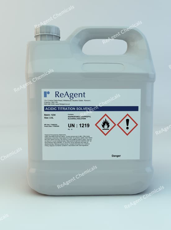 ASTM Reagents 2.5L packsize
