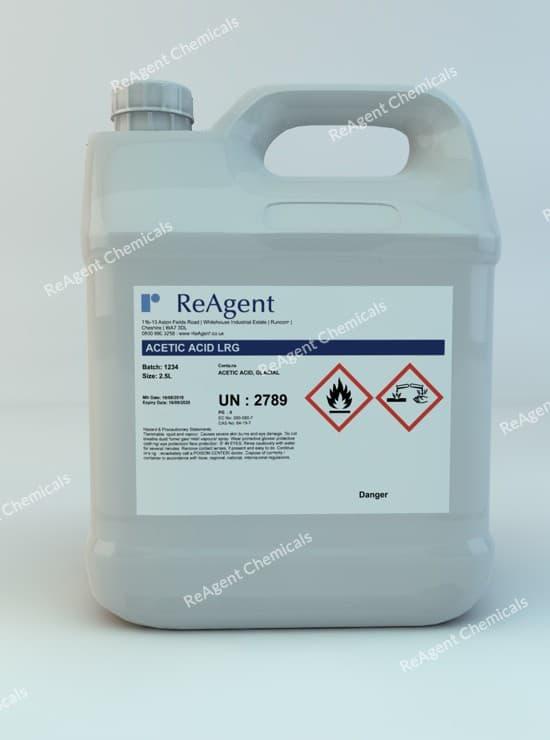 Acetic Acid Glacial (Laboratory Use) 2.5L packsize