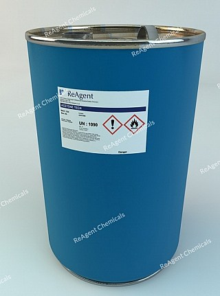An image showing Acetone (General Use) in a 25 litre container