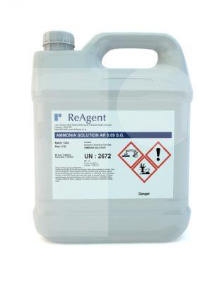 Ammonia Solution AR 0.89 SG 2.5L packsize 2