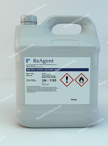 An image showing Butanone in a 2.5litre container