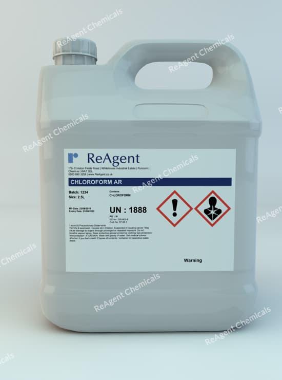 Chloroform (Analytical Use) 2.5L packsize