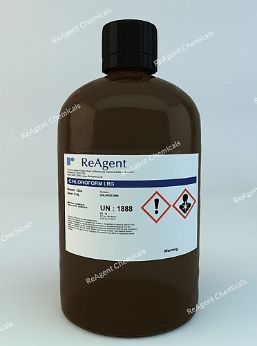 An image showing Chloroform (General Use) in a 2.5litre container