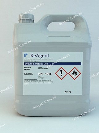 An image showing Cyclohexanone (General Use) in a 2.5litre container