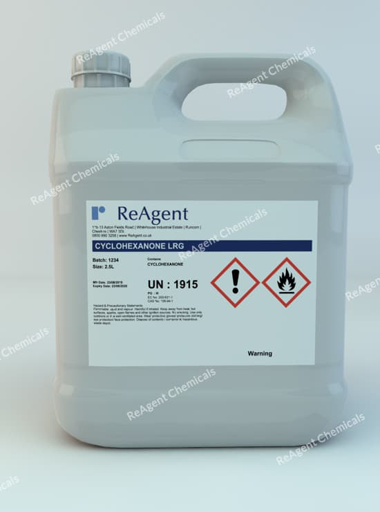 Cyclohexanone (General Use) 2.5L packsize