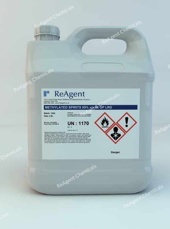 Denatured Alcohol (IMS) 95% 2.5L packsize