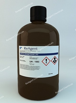 An image showing Dichloromethane (General Use) in a 2.5litre container