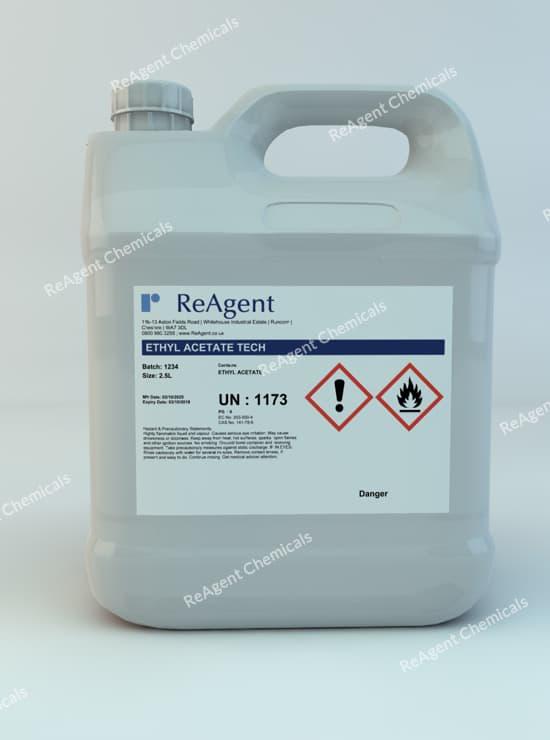 Ethyl Ethanoate 2.5L packsize