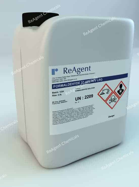 Formaldehyde 37-40% w/v (General Use)