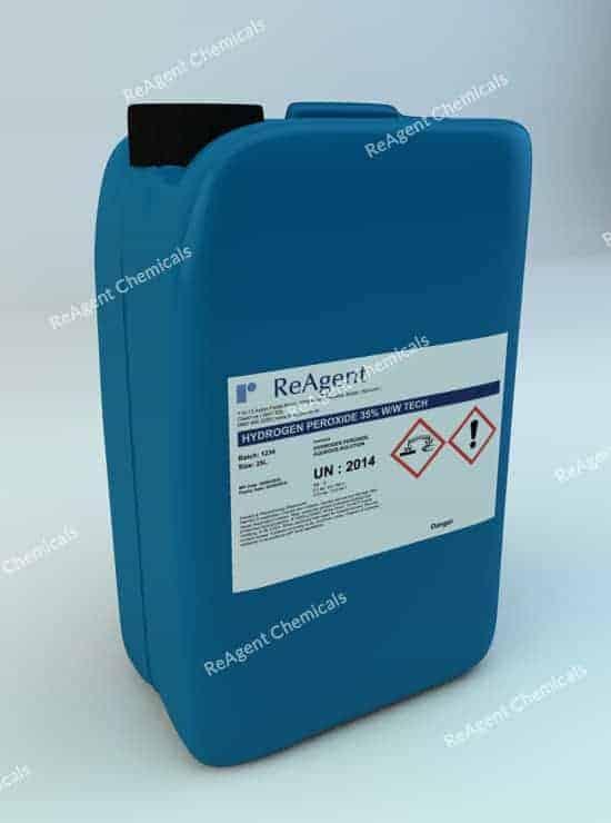 Hydrogen Peroxide 35% 25L packsize