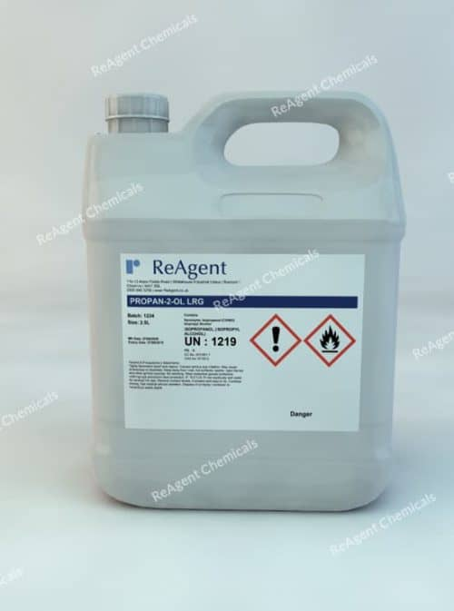 Isopropyl Alcohol (Lab Use) 2.5L packsize