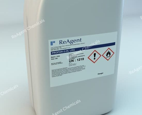 An image showing Isopropyl Alcohol (Laboratory Use) in a 25 litre container