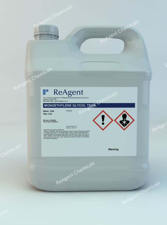 Monoethylene Glycol (General Use) 2.5L packsize