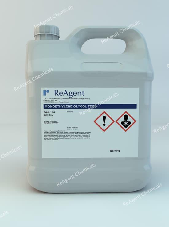 Monoethylene Glycol (Lab Use) 2.5L packsize