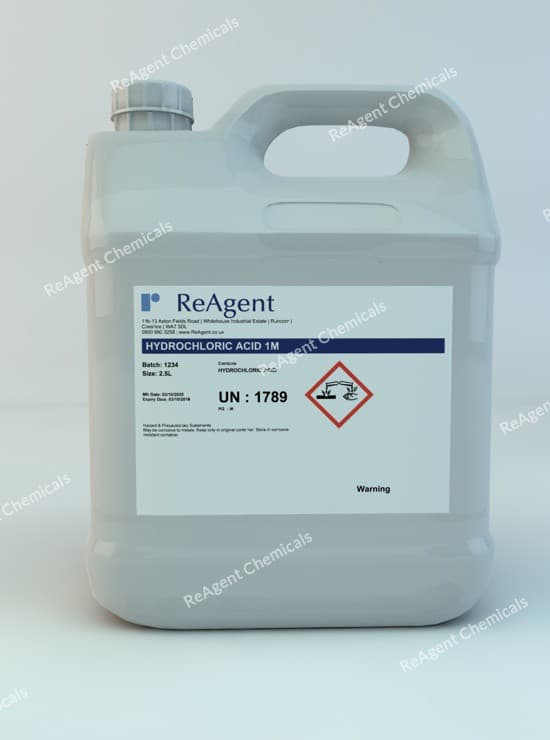 Muriatic Acid 1M (1N) 2.5L packsize