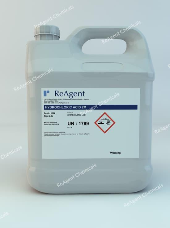 Muriatic Acid 2M 2.5L packsize