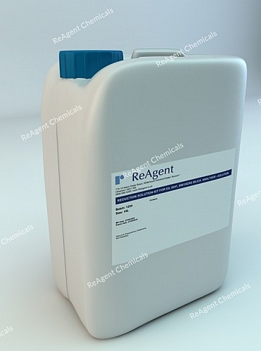 An image showing Reduction Analyser Solution Kit in a 10l container