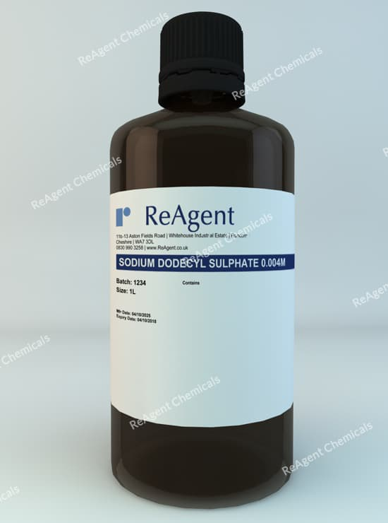 Sodium Dodecyl Sulphate 1L packsize