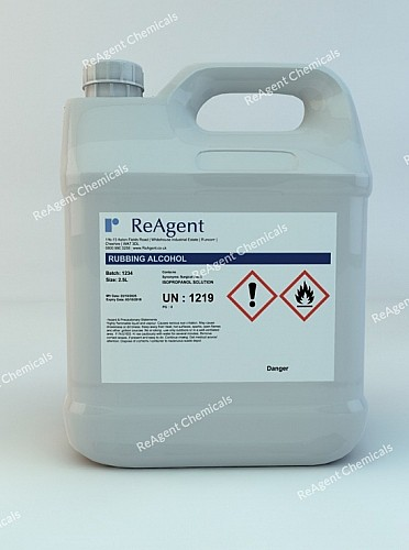 An image showing Surgical Spirit in a 2.5litre container