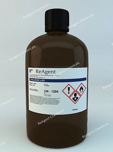 An image showing Toluene (General Use) in a 2.5litre container