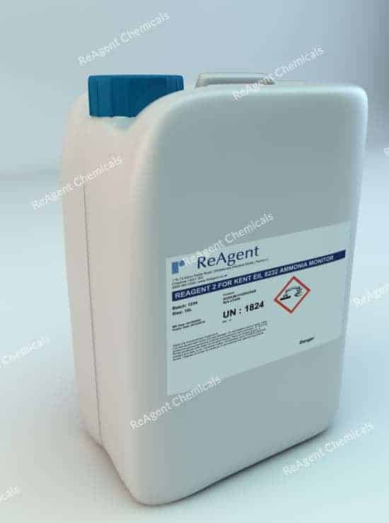 Analyser Solution Reagent 2 for ABB 8232 Ammonia Monitor 10L packsize