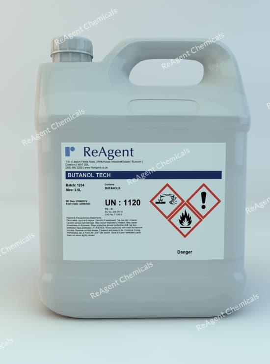 Butanol (C4H10O) 2.5L packsize