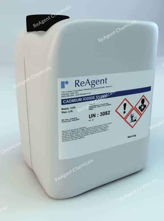 Cadmium Iodide 2.5L packsize