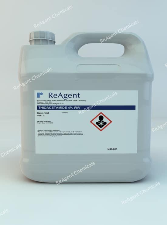 Thioacetamide 1L packsize