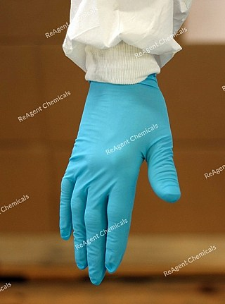 An image showing Nitrile Gloves in a Single Pair