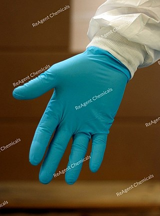 An image showing Nitrile Gloves in a Box of 50