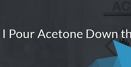 Can I Pour Acetone Down the Drain? ReAgent Chemical Suppliers