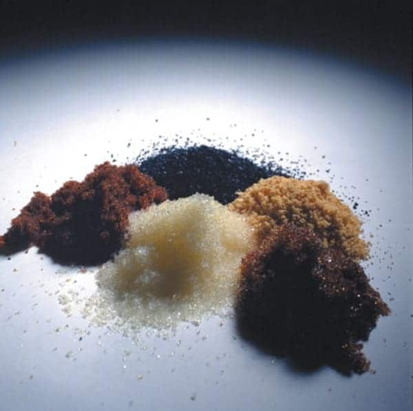 Resin beads used in deionisation