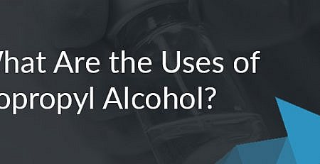 Blog banner on the uses of isopropyl alcohol