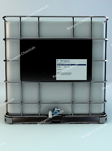 An image showing USP Purified water in a 1000L IBC