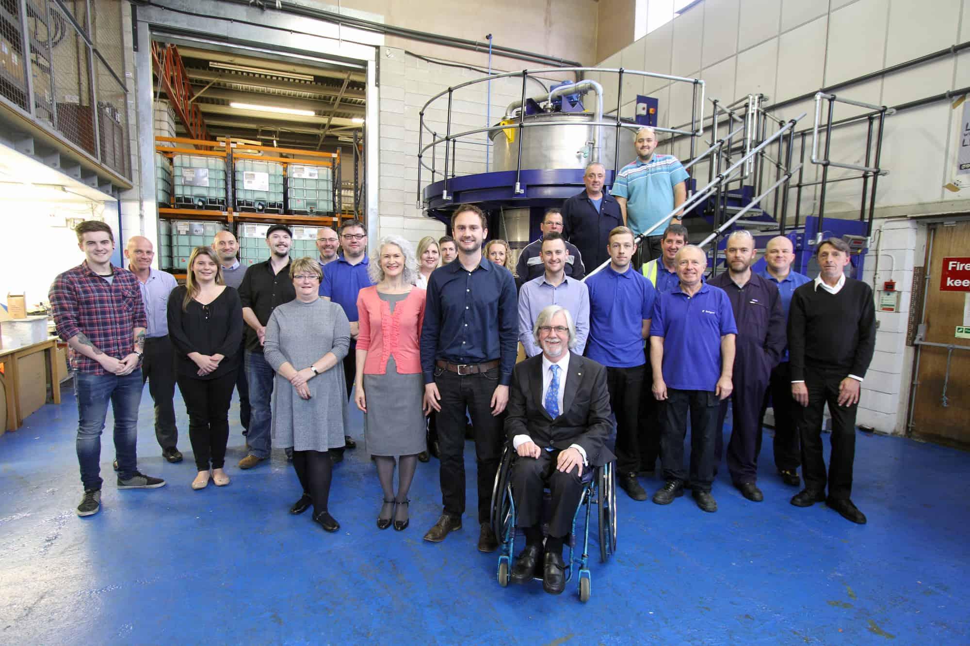 Investor's in People - ReAgent Chemicals Ltd staff