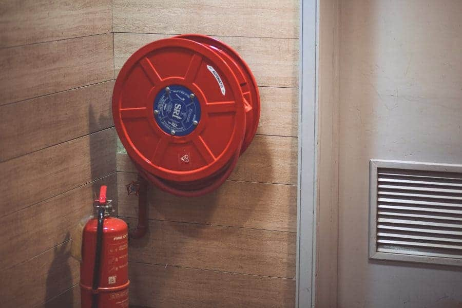 Is Ethanol Hazardous - ensure fire safety equipment is nearby
