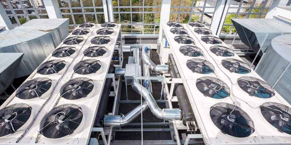 Antifreeze is used in HVAC systems as a coolant to regulate the system's temperature