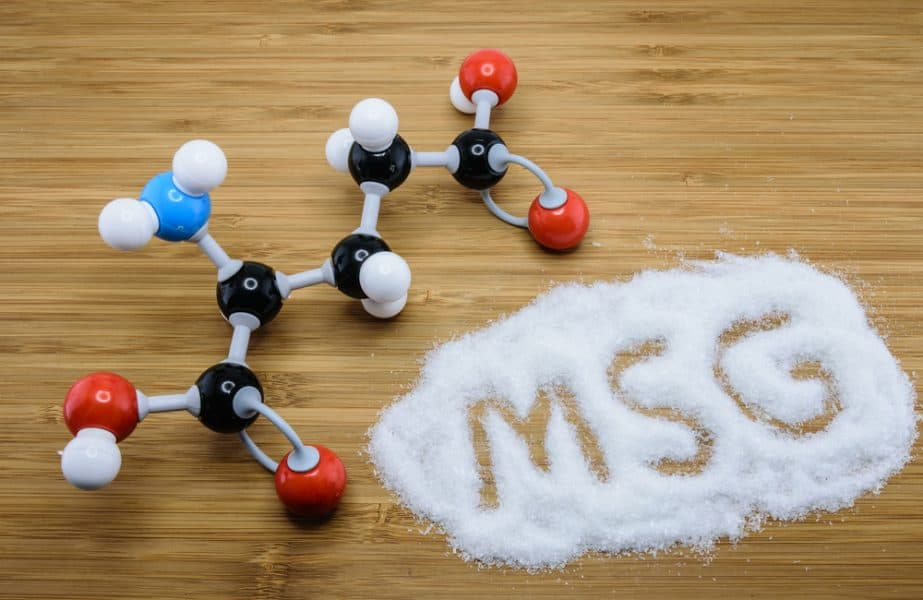 MSG - monosodium glutamate - is an example of an artificial chemical