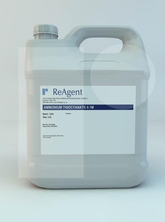 Ammonium Thiocyanate 0.1M