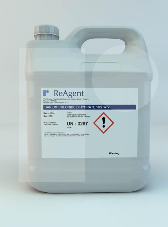 Barium Chloride Dihydrate 10% w/v