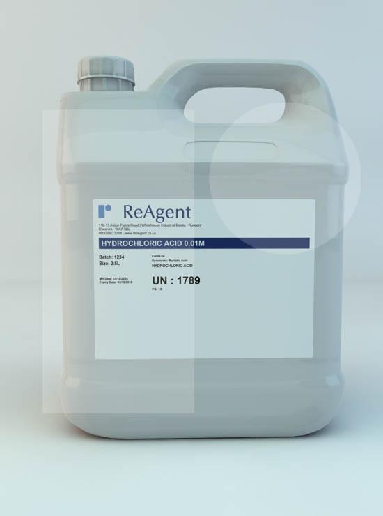 Hydrochloric Acid 0.01M