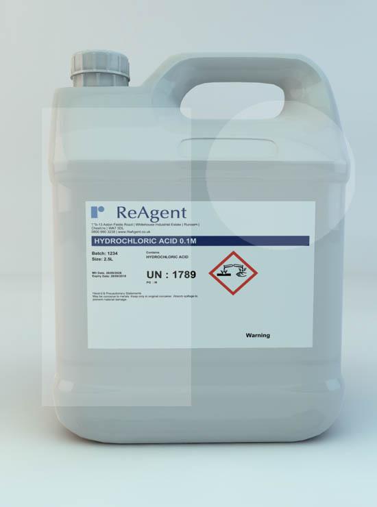 Hydrochloric Acid 0.1M (0.1N)