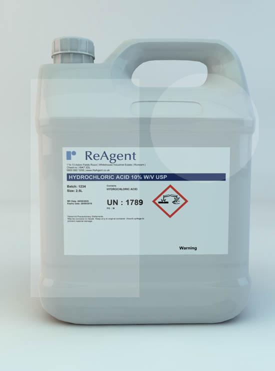 Hydrochloric Acid 10% w/v USP