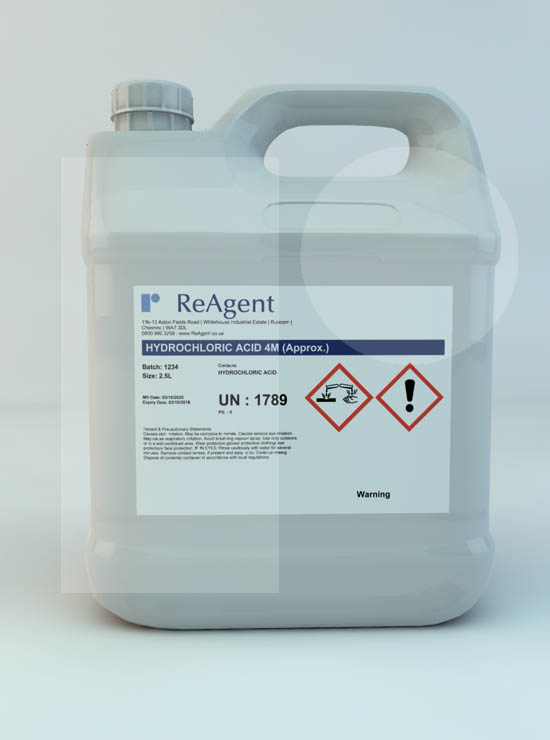 Muriatic Acid 4M (approx)