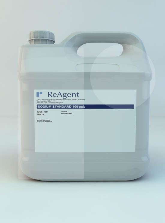 Sodium Standard 100ppb