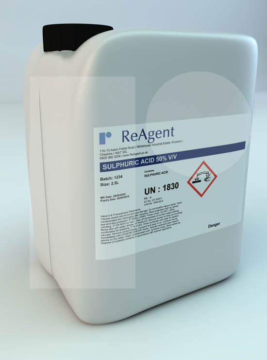 Sulfuric Acid 50% v/v