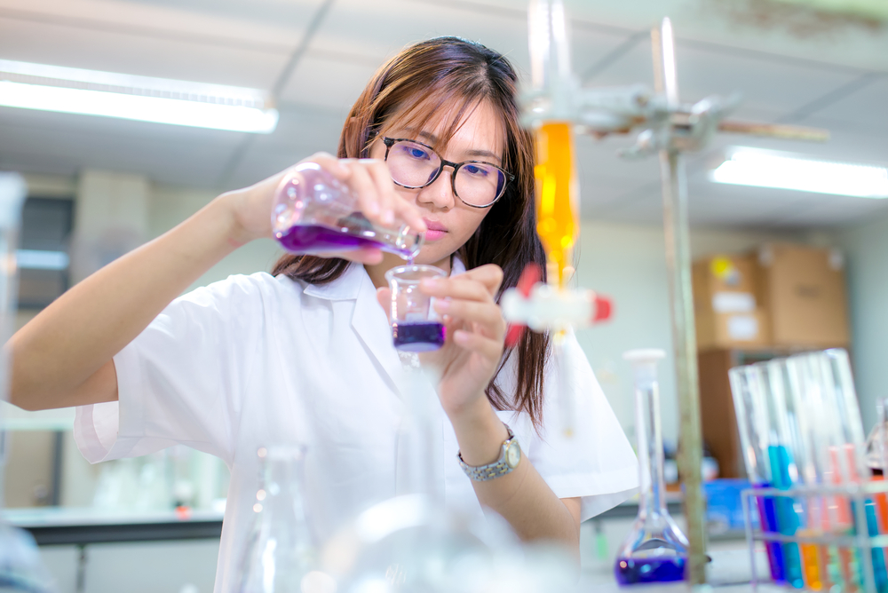 A level chemistry gives you a good grounding in chemistry basics