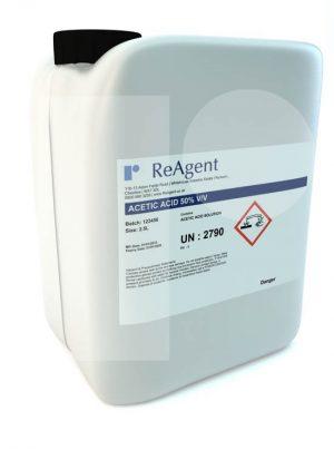 Acetic Acid 50 vv 2.5L packsize