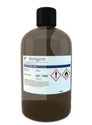 Acetone Laboratory Use 2.5L packsize