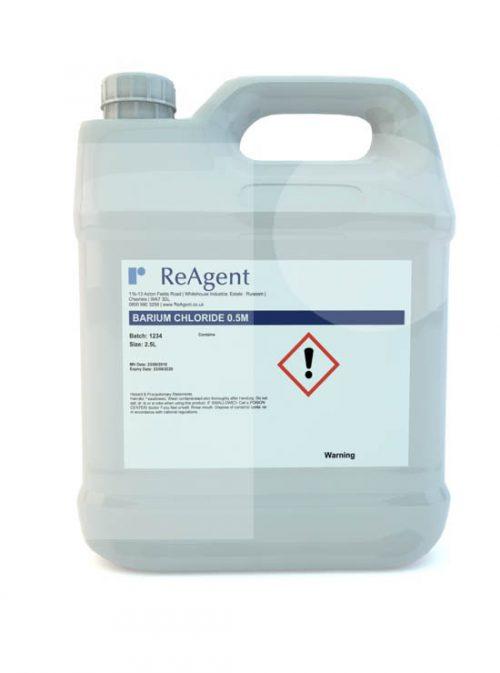 Barium Chloride 0.5M 2.5L packsize